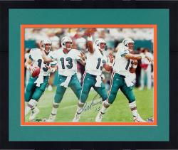 "Framed Dan Marino Miami Dolphins Autographed 16"" x 20"" Exposure Photograph"