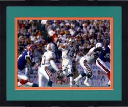 "Framed Dan Marino Miami Dolphins Autographed 16"" x 20"" Horizontal vs. Buffalo Bills Photograph"
