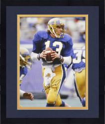 "Framed Dan Marino Autographed University of Pittsburgh 16"" x 20"" Photo"