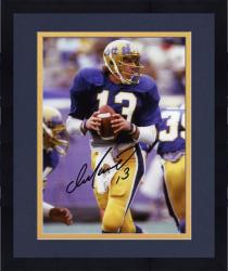"Framed Dan Marino Pittsburgh Panthers Autographed 8"" x 10"" Photograph"