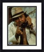 "Framed Danny DeVito Autographed 8"" x 10"" On Phone Holding Cigarette Photograph - Beckett COA"