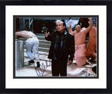 "Framed Danny DeVito Autographed 8"" x 10"" Pointing Gun  Photograph - Beckett COA"