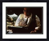 "Framed Danny DeVito Autographed 8"" x 10"" Typewriter Photograph - Beckett COA"