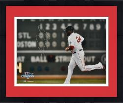 Framed David Ortiz Boston Red Sox 2013 World Series Champions Autographed 16'' x 20'' Green Monster Photograph