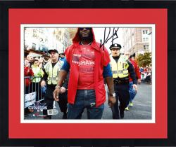 "Framed David Ortiz Boston Red Sox 2013 World Series Champions Autographed 8"" x 10"" Parade Photograph"