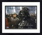 """Framed David Prowse Star Wars Autographed 11"""" x 14"""" Photograph with """"Darth Vader"""" Inscription"""