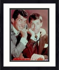 """Framed Dean Martin & Jerry Lewis Autographed """"11 x 14"""" Posed Photograph - PSA/DNA LOA"""