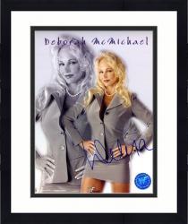 "Framed Debra McMichael Autographed 8"" x 10"" Photograph"