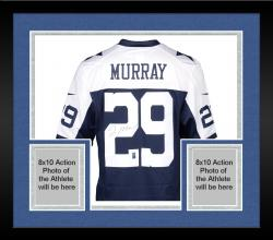 Framed DeMarco Murray Dallas Cowboys Autographed Nike Limited Throwback Jersey