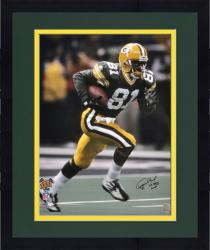 Framed Desmond Howard Autographed Photo - Super Bowl XXXI 16x20 Mounted Memories