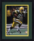 "Framed Desmond Howard Green Bay Packers Super Bowl XXXI Autographed 8"" x 10"" Running Photograph"