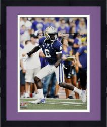 Framed Desmond Trufant Washington Huskies Autographed 16'' x 20'' Purple Uniform Photograph