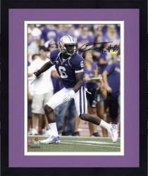 Framed Desmond Trufant Washington Huskies Autographed 8'' x 10'' Purple Uniform Photograph