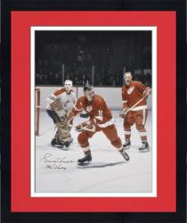 "Framed Gordie Howe Detroit Red Wings Autographed 16"" x 20"" Vertical Color Photograph with Mr. Hockey Inscription"