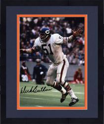 "Framed Dick Butkus Chicago Bears Autographed 8"" x 10"" Photograph"