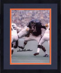 "Framed Dick Butkus Chicago Bears Autographed 8"" x 10"" vs Pittsburgh Steelers Photograph"