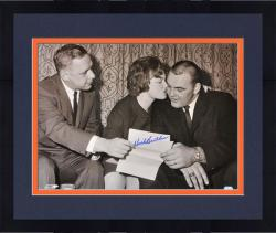 "Framed Dick Butkus Chicago Bears Contract Signing Autographed 16"" x 20"" Photograph"