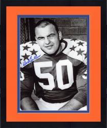 "Framed Dick Butkus Illinois Fighting Illini Autographed 8"" x 10"" Close Up Photograph"