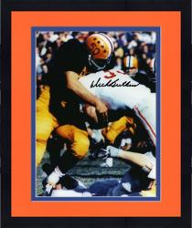 "Framed Dick Butkus Illinois Fighting Illini Autographed 8"" x 10"" Tackling Photograph"