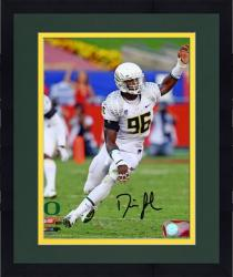 "Framed Dion Jordan Oregon Ducks Autographed 8"" x 10"" Arm Up Photograph"