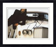 Framed Snoop Dogg Autographed 8'' x 10'' Leaning On Car Photograph