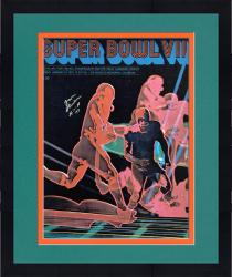 """Framed Don Shula Miami Dolphins Autographed 16"""" x 20"""" 1972 SB Cover Photograph with HOF 97 Inscription"""