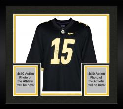 Framed Drew Brees Purdue Boilermakers Autographed Jersey
