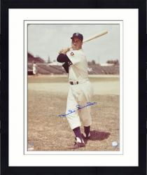 Framed Duke Snider Brooklyn Dodgers Autographed 16'' x 20'' Standing with Bat Photograph