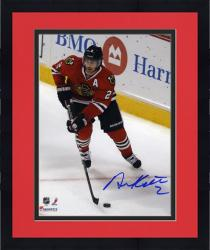 Framed Duncan Keith Chicago Blackhawks 2013 NHL Stanley Cup Final Champions 8'' x 10'' Autographed Action Photograph