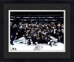 "Framed Dustin Brown Los Angeles Kings 2014 Stanley Cup Champions Autographed 16"" x 20"" Team Celebration Photograph"