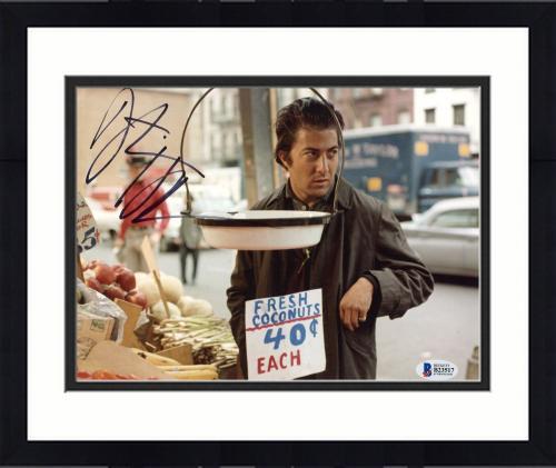 "Framed Dustin Hoffman Autographed 8"" x 10"" Midnight Cowboy: At Shop Photograph - Beckett COA"