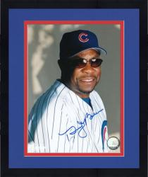 "Framed Dusty Baker Chicago Cubs Autographed 8"" x 10"" Sunglass Photograph"