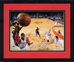 "Framed Dwight Howard Houston Rockets Autographed 16"" x 20"" Horizontal Lay-Up Photograph"