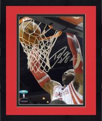 "Framed Dwight Howard Houston Rockets Autographed 8"" x 10"" Vertical Dunk Photograph"