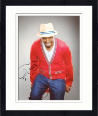 Framed Eddie Griffin Autographed 8'' x 10'' Red Sweater Photograph