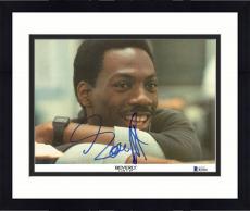 "Framed Eddie Murphy Autographed 8"" x 10"" Beverly Hills Cop: Smiling Photograph - Beckett COA"