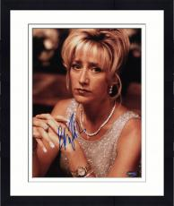 Framed Edie Falco Autographed 11x14 PSA/DNA