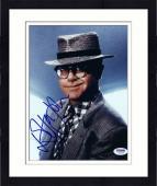 "Framed Elton John Autographed 8""x 10"" Wearing Hat Photograph -  PSA/DNA COA"