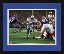 Framed Emmitt Smith Dallas Cowboys SB XXVII TD Autographed 8'' x 10'' Photograph