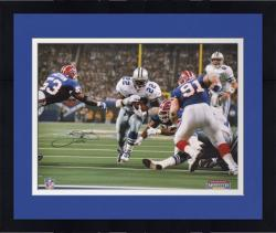 Framed Emmitt Smith Dallas Cowboys Super Bowl XXVII Autographed 16'' x 20'' Photograph