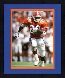 "Framed Emmitt Smith Florida Gators Autographed 16"" x 20"" Photograph"