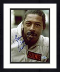 "Framed Ernie Hudson Autographed 8"" x 10"" Ghostbusters Photograph - Beckett COA"
