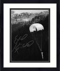 "Framed Evel Knievel Autographed 8"" x 10"" Snake River Photograph"