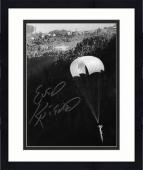 """Framed Evel Knievel Autographed 8"""" x 10"""" Snake River Photograph"""