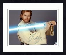 Framed Ewan McGregor Signed Photo - 11x14 PSA/DNA