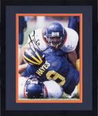 Framed James Farrior Virginia Cavaliers Autographed 8'' x 10'' Making Tackle Photograph