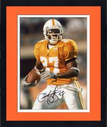 Framed Arian Foster Autographed Tennessee 8x10 Photo