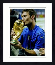"Framed Francisco Totti Spain Autographed 16"" x 12"" Photograph"