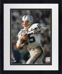 "Framed Fred Biletnikoff Oakland Raiders Autographed 8"" x 10"" Ball in Left Hand Photograph with HOF 88 Inscription"