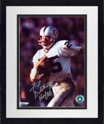 """Framed Fred Biletnikoff Oakland Raiders Autographed 8"""" x 10"""" Running with Ball Photograph with HOF 88 Inscription"""